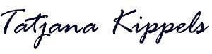 Tatjana Kippels Signatur